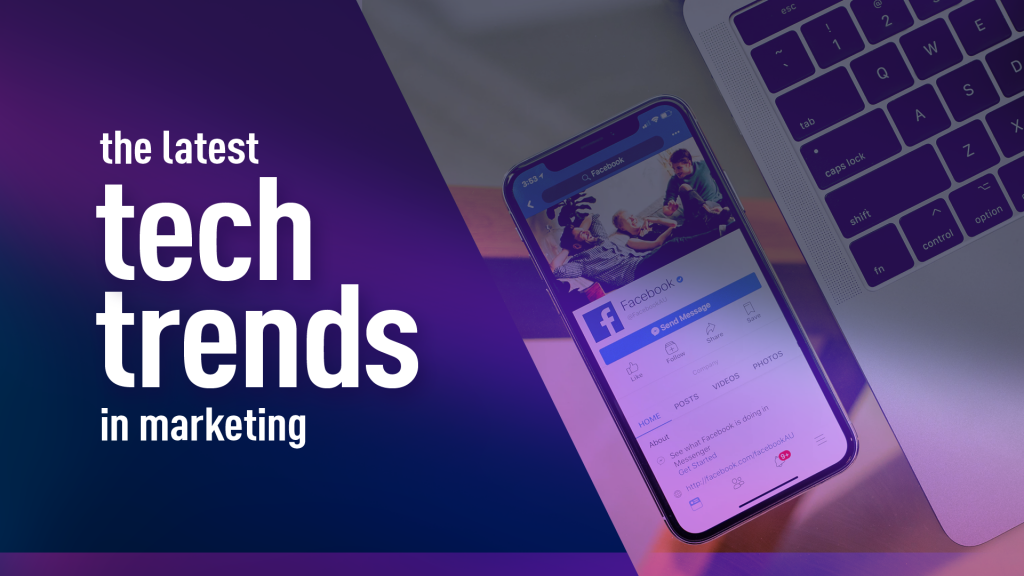 Marketing tech trends