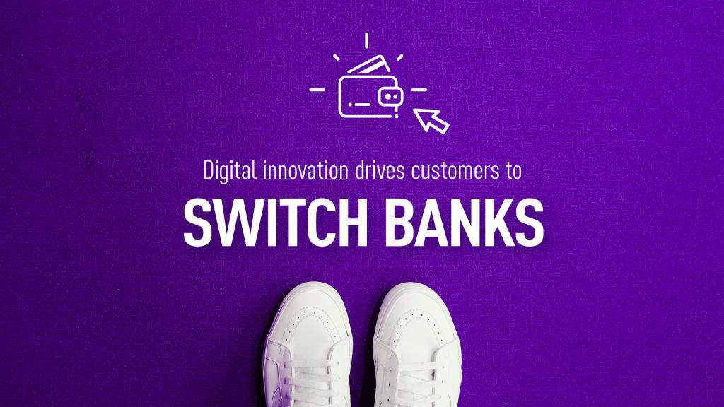Switching banks visualization