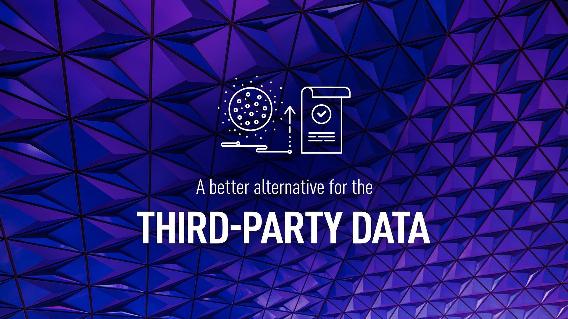 Third party data alternative