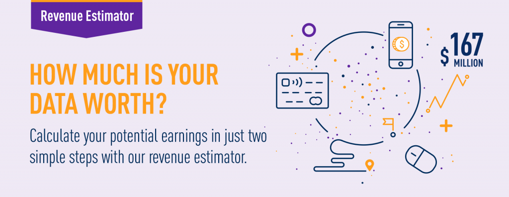 How much is your data worth - Revenue Estimator
