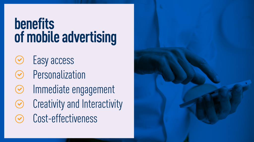 Benefits of mobile advertising