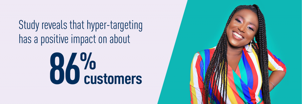 Targeted advertising positive impact on customers