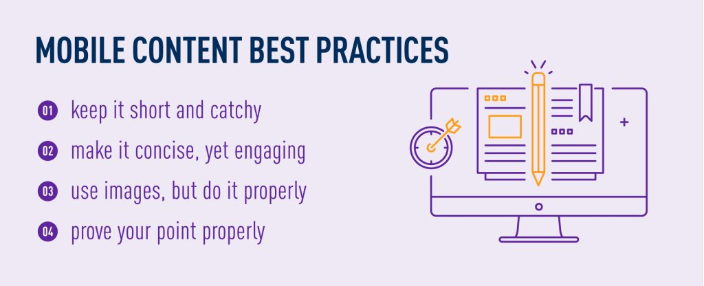 mobile content marketing strategy - best practices