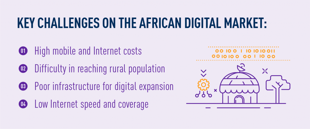 key challenges for telecom in African digital market